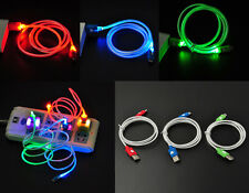 Stylish Micro USB Charge Data Sync Cable LED Visible Light For Android Samsung