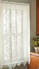 Heritage Lace Dogwood Panel, Choice of 2 Sizes & 2 Colors, One or Set - Floral