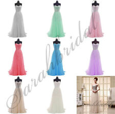 Stock Formal Sequin Long Prom Party Dresses Evening Cocktail Ball Gown Plus Size