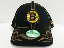 YOUTH Boston Bruins New Era 39Thirty Cap Jr Blackteam Neo Stretch Fit Hat