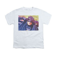 Batman Classic TV Smooth Groove - Youth T-Shirt - White BMT123-YT