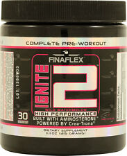 Ignite2 by FinaFlex - Complete Muscle Building Pre-Workout Powder (30 Servings)