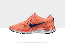 New Nike Womens Flyknit Lunar1+ Running Atomic Pink Blue 554888 641 Save $95