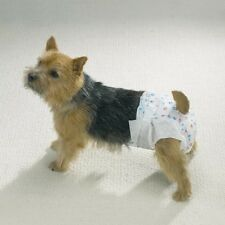 Dog Diaper Bulk Packs - Disposable Doggie Diapers - Helps Protect from Soiling !