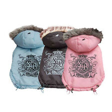 Choose Size & Color- Little Barkers - Imperial Mayesty - Dog Jacket remov Hoodie