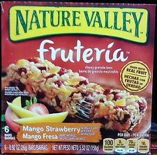 Nature Valley Fruteria Chewy Granola Bars ~ One Box