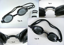 optical Swimming goggles for Adult Prescription +4,0 up to -7,0 Diopter with