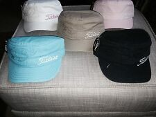 TITLEIST STYLISH MILITARY CAP,CHOICE OF COLOURS,CHEAPEST UK PRICE