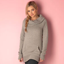 Womens Bench Dopiofun Ii Sweatshirt In Grey Reliable, Casual Wear For Women