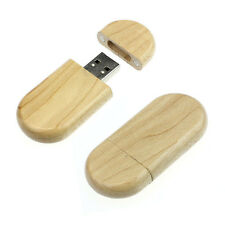 4/8/16/32/64GB Wood Style High Speed USB2.0 Flash Storage Memory Stick Newest