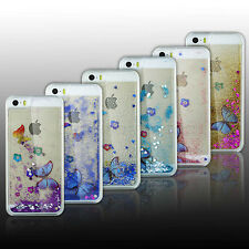 Hot Sale Butterfly Ctystal Quicksand Liquid Dynamic Hard Case Cover For iPhone 6