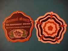 Beer Coaster <> SAMUEL SMITH'S Brewery ~ Independent Brewer ~ Yorkshire's Oldest