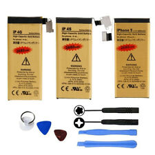 Gold High-Capacity Replacement Internal Battery for iPhone 4 4S 5 5C 5S 6 Plus +