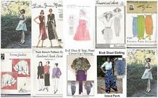 Sewing Pattern Boutique Cottage Industry Misses Size w Plus Sizes  You Pick