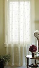 French Country Bee Crushed Lace Panel by Heritage Lace, 2 Colors in 3 sizes
