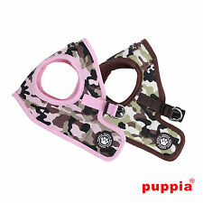 Any Size & Color - Puppia - LEGEND - Soft Dog Puppy Harness Vest - Pink  Brown