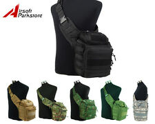 Tactical Military Airsoft Hunting Hiking 1000D Molle Shoulder Sling Bag Backpack