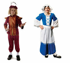 TUDOR BOY GIRL FANCY DRESS COSTUME. DRESSING UP. AGE 7-9, 10-12 MORE IN THE SHOP