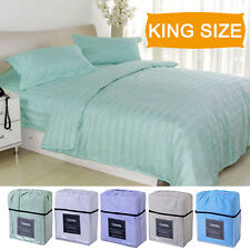1800 Count 4 Piece Bed Sheet Set Deep Pocket 5 Color Available King Size New