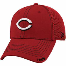 New Era Cincinnati Reds Red Neo 39THIRTY Stretch Fit Hat - MLB