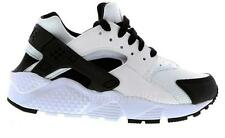 Nike Air Huarache Gs White Black Juniors Women Girls Boys Trainer 654275 103