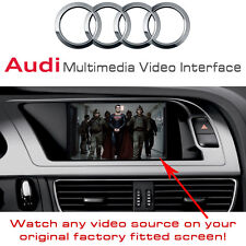 Audi A5, Q5, A4 B8 Auto Multimedia Video Schnittstelle + Optional Handy