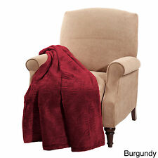 BNF Home Quilted Flannel Throw