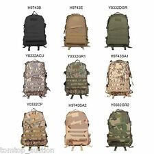Molle Military Tactical Backpack Rucksack Camping Traveling Hiking Bag 40L
