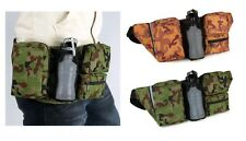 CAMOUFLAGE FANNY PACK Rust or Green Camo for Camper Hiker Hunter Bulk Packs Too!