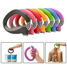 One Trip Lock Handle Easy Grip Grocery Shopping Bag Carrier Holder Tool