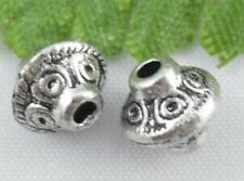 Wholesale 46/100Pcs Tibetan Silver  Spacer Beads 6x7mm(Lead-free)
