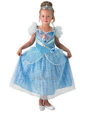 NEW Disney Princess Shimmer Cinderella Fancy Dress Costume Outfit