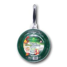 "12""/10"" Orgreenic Frying Pan Eco Organic Safe Cooking As Seen On TV Non Stick"