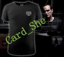 Marvel Agents of S.H.I.E.L.D. Shield T-shirt Movie Tops Cosplay Costume New