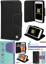NEW INFOLIO WALLET CREDIT CARD ID CASH CASE COVER STAND FOR SAMSUNG GALAXY AVANT