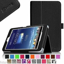 Slim Fit Leather Case Cover for ASUS MeMO Pad 8 ME180A Tablet Auto Wake/Sleep