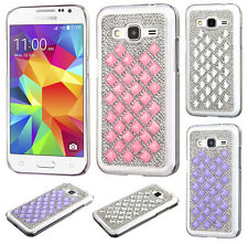Samsung Galaxy Prevail LTE Diamond Desire Back BLING Protector Hard Case Cover