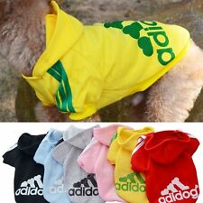 Fashion Dog Clothes Cat Coat Sport Hoodie Sweater Jacket Costumes Pet Puppy New