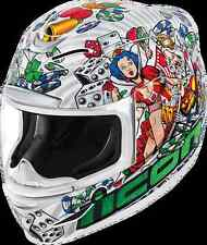 Icon Airmada Lucky Lid full face motorcycle helmet