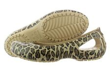 Crocs Kadee Crocslite 11710-751 Rubber Leopard Slip On Shoes Medium (B, M) Women
