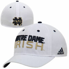 Notre Dame Fighting Irish adidas Mens Flex Hat - White