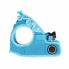 Any Size - PUPPIA - VIVIEN - Soft Dog Puppy Harness Vest - Sky Blue