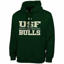 South Florida Bulls Under Armour Performance Hoodie - Green - College