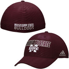 Mississippi State Bulldogs adidas Sideline Travel Flex Hat - Red - College