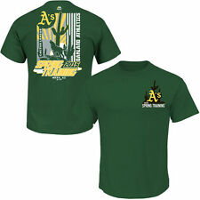 Oakland Athletics Majestic In The Park Homer Spring Training T-Shirt - Green