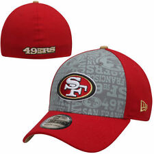 San Francisco 49ers New Era NFL Draft 39THIRTY Flex Hat - Red