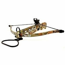 150lbs Sniper Hunting Crossbow With Red Dot Scope and 8 Arrows - 4 Colors