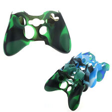 Replacement Camouflage Silicone Skin Cover Case For Xbox360 Controller Stylish