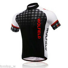 Men's Sport Bike Cycling Jersey Top Shirt Bicycle Wear Clothing Short Sleeves