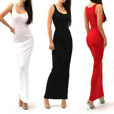 Women Sexy Cocktail Evening Bodycon Long Maxi Bandage Dress Party Clubwear